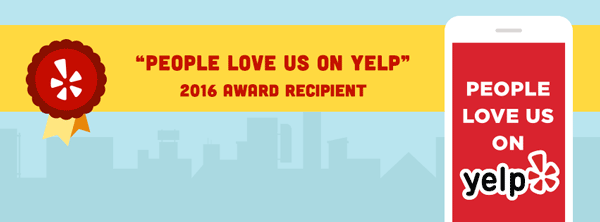 Agent Pest Control - Yelp 2016 Award