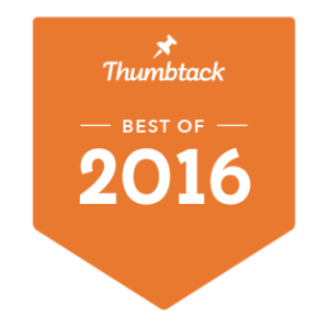 Thumbtack - best of 2016 award